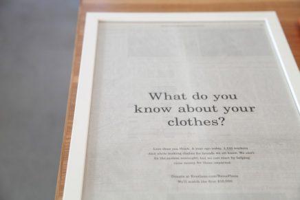 Kantoor van online kledingwinkel Everlane