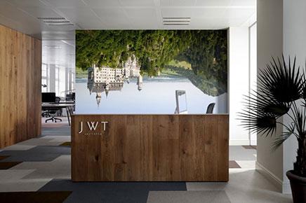Kantoor van reclamebureau JWT uit Amsterdam