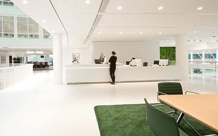 Kantoorinrichting Eneco hoofdkantoor Rotterdam
