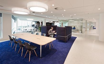 Büroplan Eneco Hauptsitz Rotterdam