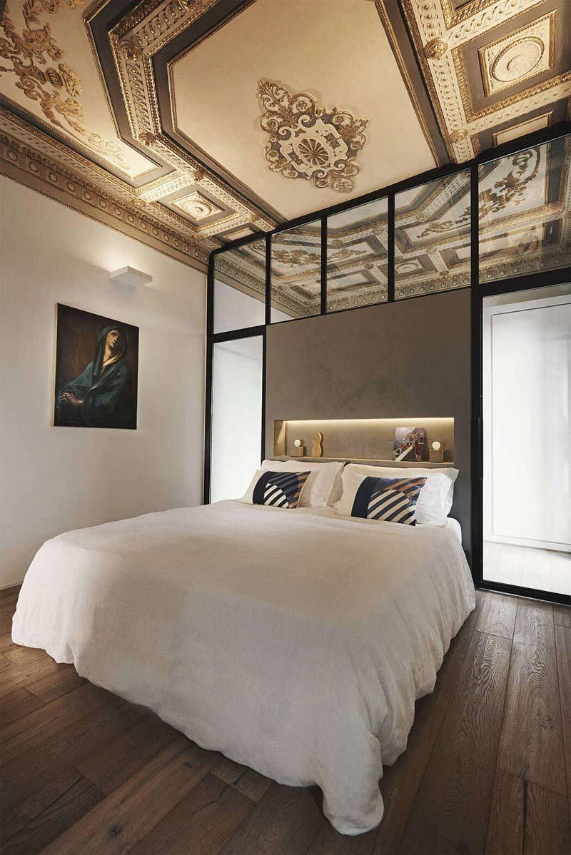 karakteristiek plafond slaapkamer