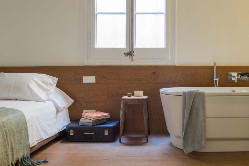 Slaapkamer En Suite : Karakteristieke loft slaapkamer badkamer suite inrichting huis.com