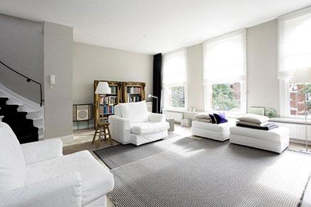 Karakteristiek neutrale interieur inrichting te koop for Vakantiehuis inrichten