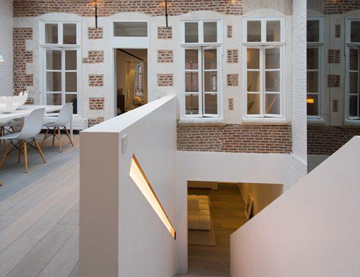 Karakteristieke woning met een modern en strak interieur
