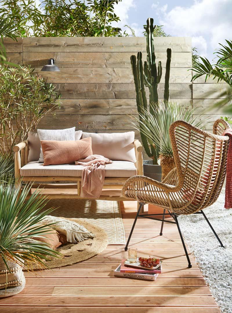 Karwei tuinmeubelen Buitenkleed Ibiza x Sisal vloerkleed