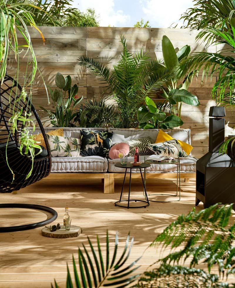 Karwei tuinmeubelen hangstoel Joya