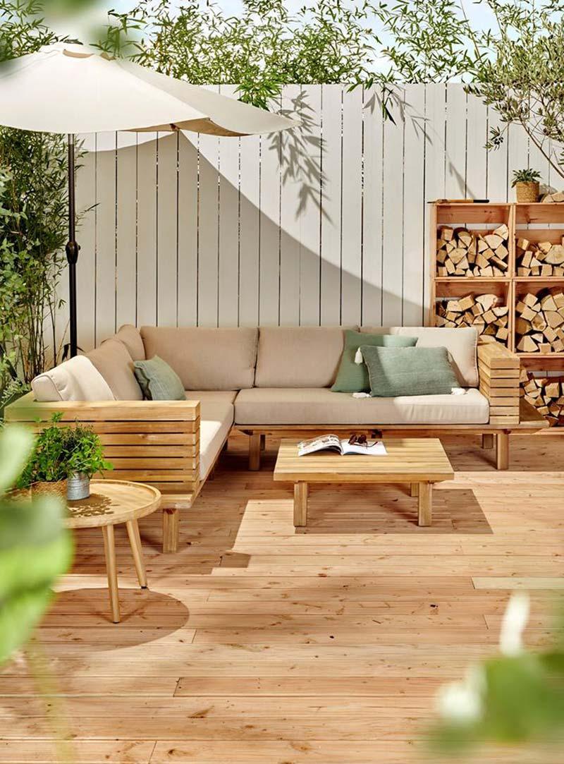 Karwei tuinmeubelen salontafel tess