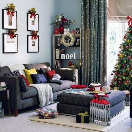 Kerst ideeën voor de woonkamer