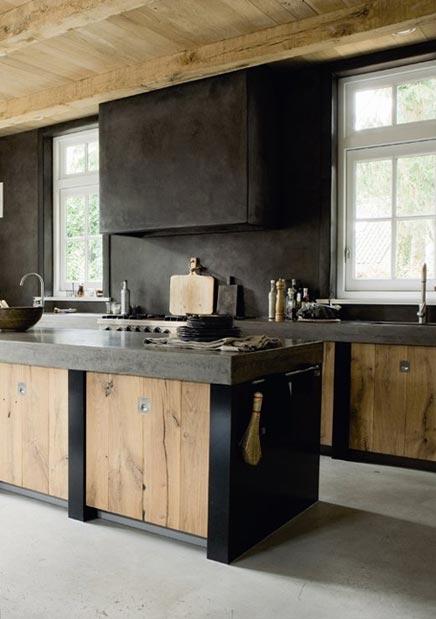 Beton keuken zwart – atumre.com