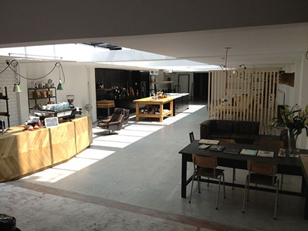De keuken van Eginstill