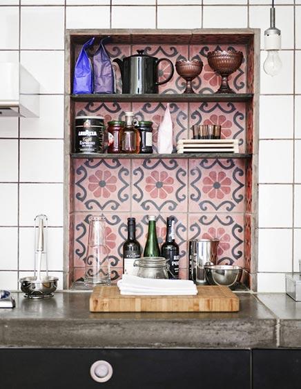 Witte Mozaiek Tegels Keuken : Witte keuken tegels tegel op