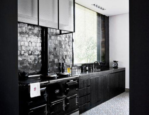 Keuken van interieurontwerpers Jan & Kathy