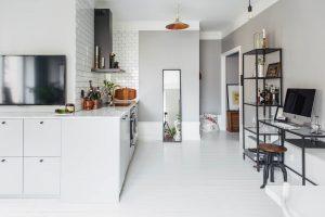 Dit kleine appartement van 18m2 is leuk!  Inrichting-huis.com