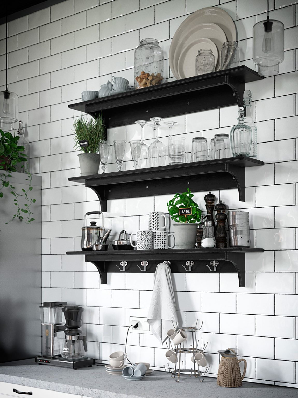 keuken-wandplanken-zwart