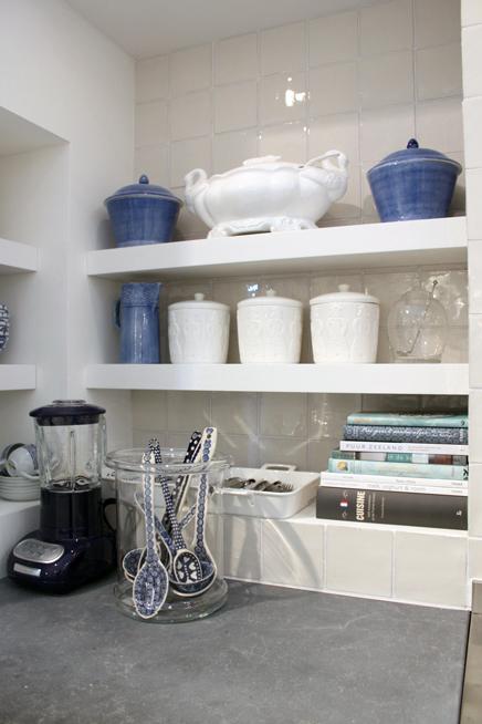 Blauwe Keuken Accessoires : Keukens van woonbeurs 2010 Inrichting-huis.com