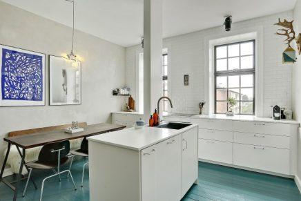 Droom appartement uit kopenhagen inrichting - Scandinavische blauwe ...