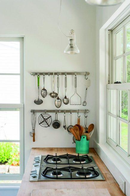 Keukengerei ophangen
