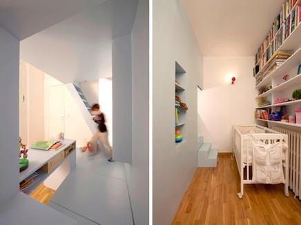 Kinderkamer met bunkerbed