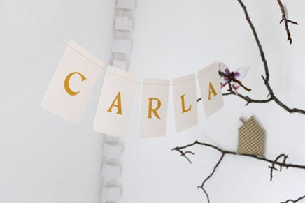 Kinderkamer van Caroline Briel