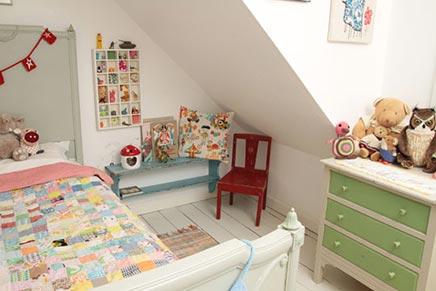 Kinderkamer van Indigo