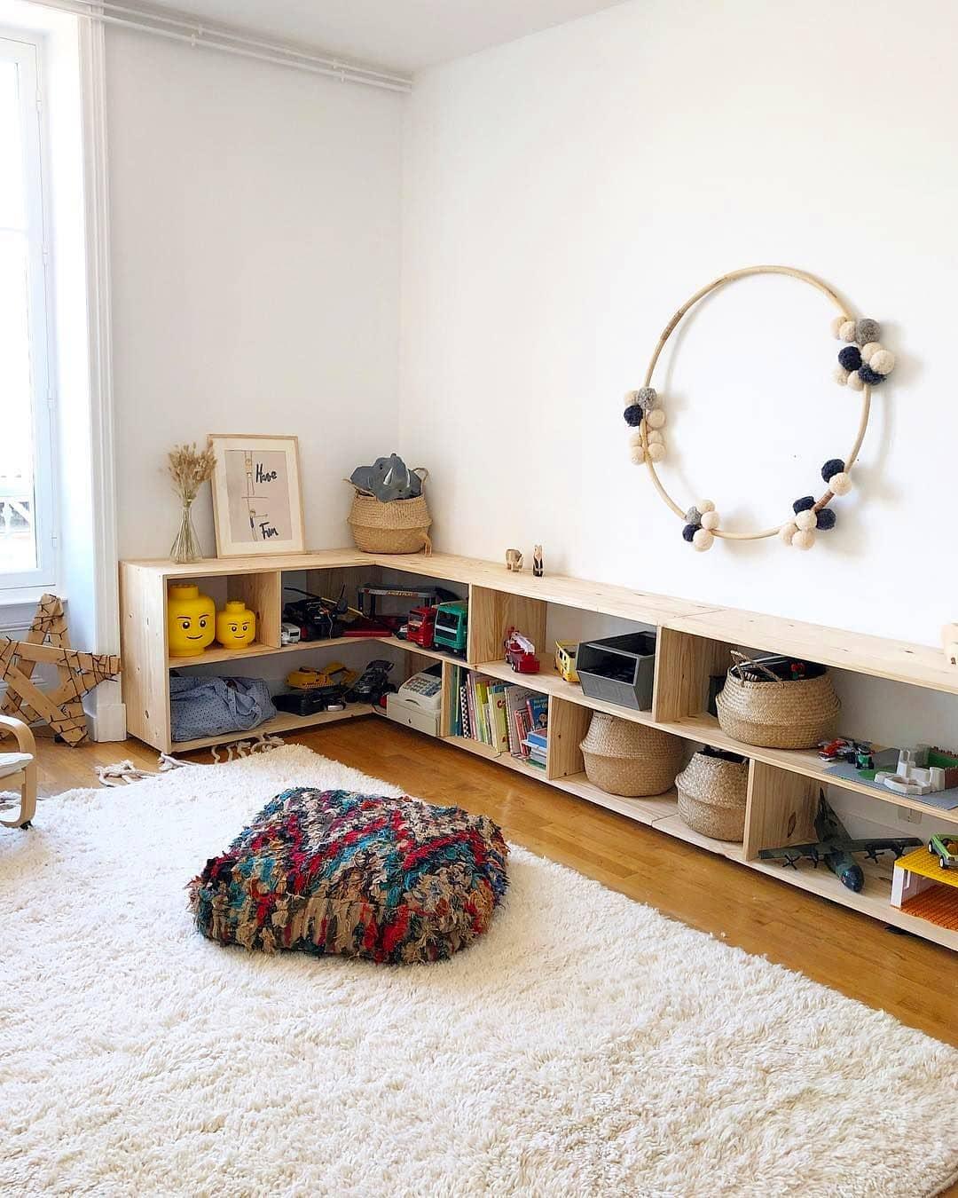 kinderkamer inrichten Montessori