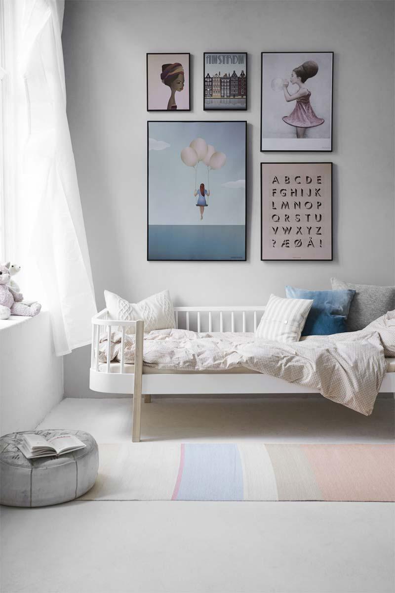 kinderkamer inrichten tips kleur toevoegen