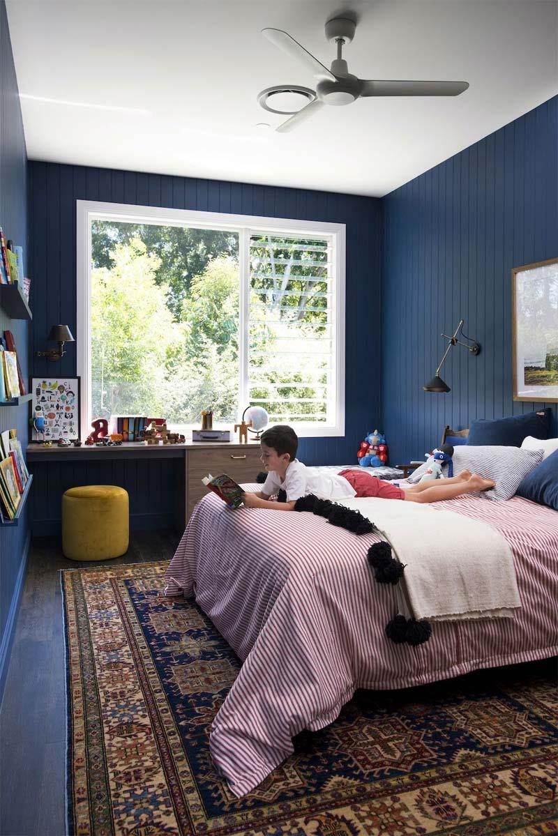 kinderkamer inrichten tips muur kleur