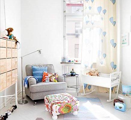 Kinderkamer van kleine Harry