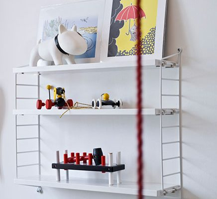 Kinderkamer met leuke accessoires