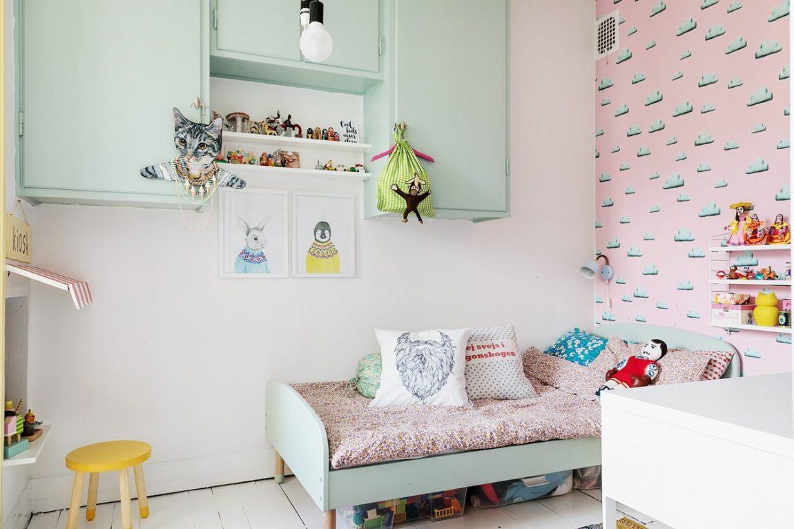 Kinderkamer Met Pastelkleuren : Kinderkamer met pastelkleuren inrichting huis