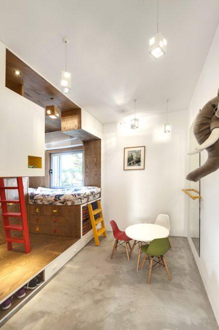 kinderkamer ontwerp door een architect inrichting
