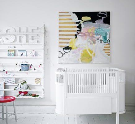 Kinderkamer door sieradenontwerpster Stine A. Johansen
