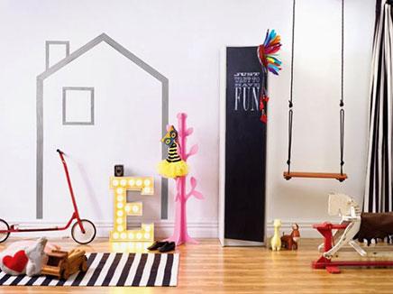 Kinderkamer styling met kleur