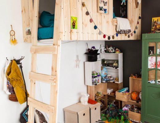 Kinderkamer van Ulysse