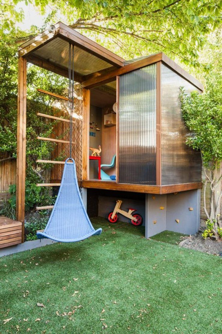 kindvriendelijke tuin kunstgras