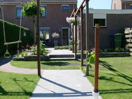 Kindvriendelijke tuin in wageningen inrichting for Kleine achtertuin inrichten