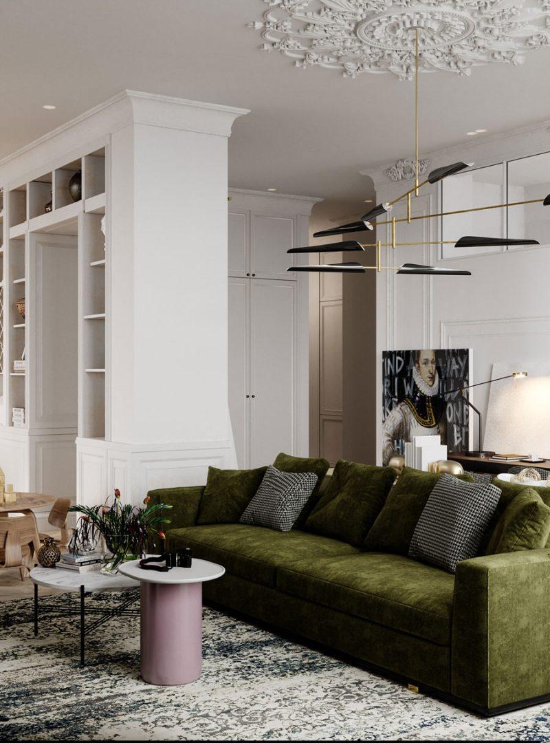 Klassiek chic appartement van 110m2
