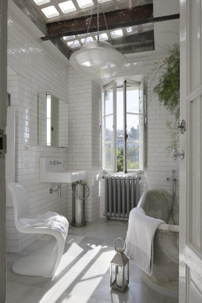 Klassieke badkamer droomhuis
