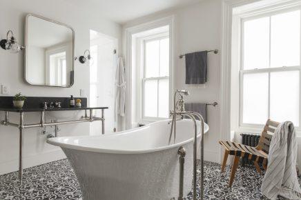 Patroontegels badkamer