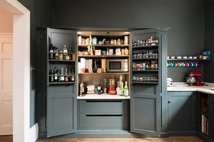 Klassieke mosgroene keuken van deVol