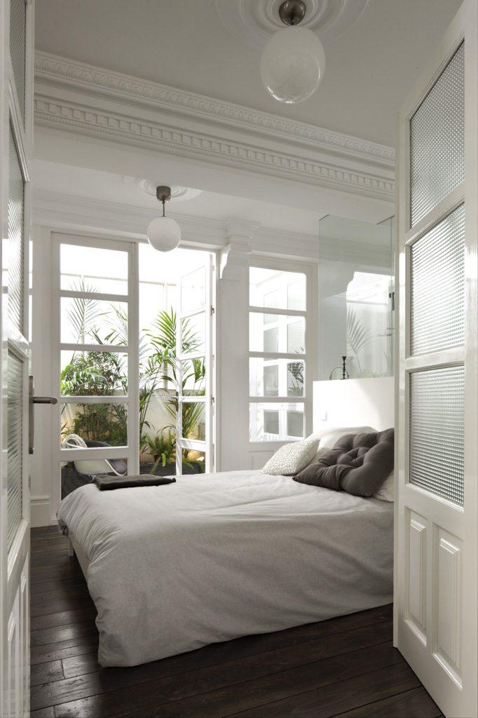 Klassieke slaapkamer droomhuis