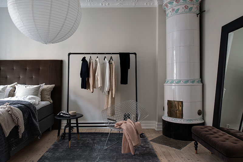 kledingrek slaapkamer