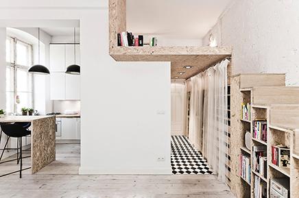 Klein appartement van 29m2 inrichting - Van interieur appartement ...