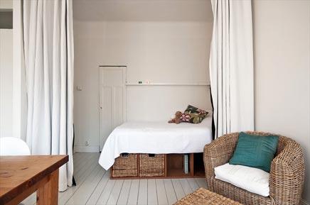 Loft bed modern - Layout klein appartement ...