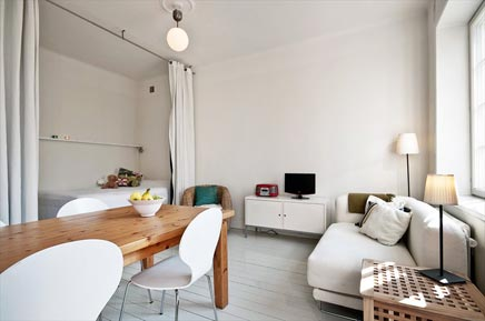 Klein appartement van 38m2
