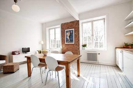 Klein appartement van 38m2 inrichting for Woonkamer appartement inrichten