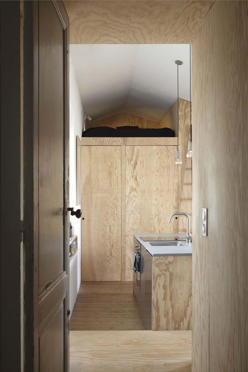 klein appartement inrichten multiplex