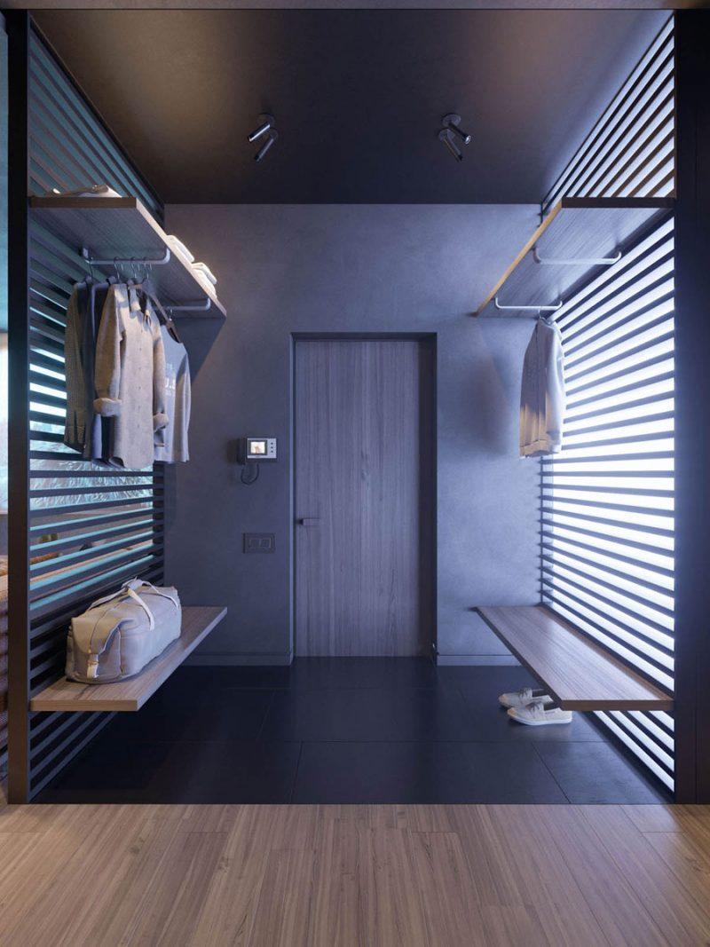 Klein appartement met modern stoer interieur