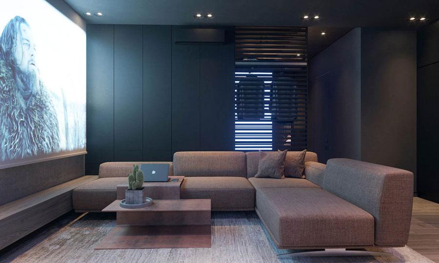 Dit kleine appartement is stoer verbouwd met een budget van
