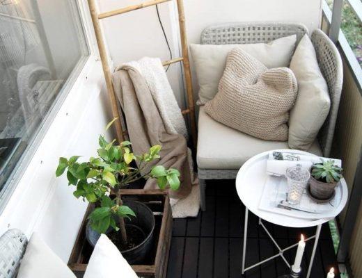 Klein balkon inrichten met een budget van €500,-